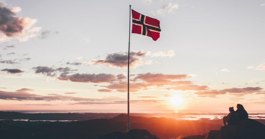 Kryptokasina přebírající hazard v Norsku
