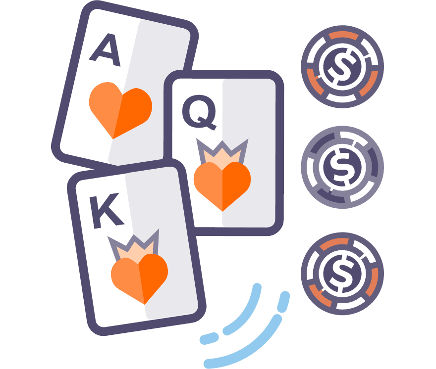Hrajte Tříkaretní poker Online -Top 29 nejvýše platící Online Kasinos 2021