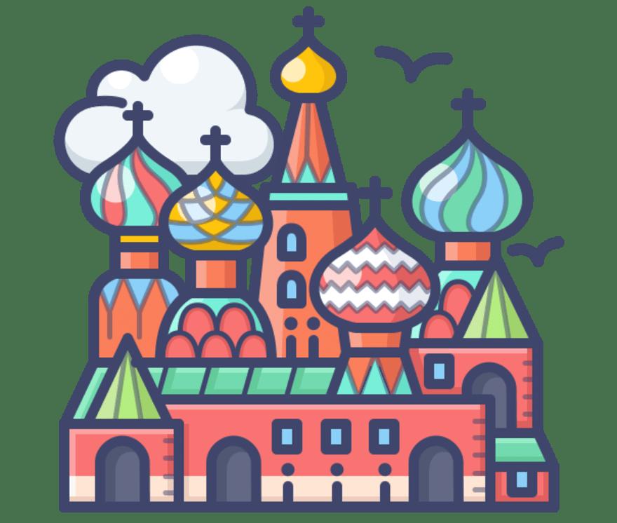 Nejlepší 69 Online kasinos v Rusko 2021