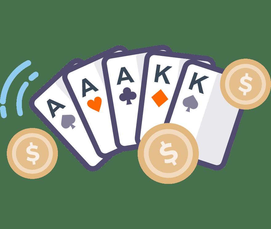 Hrajte Poker Online -Top 61 nejvýše platící Online Kasinos 2021