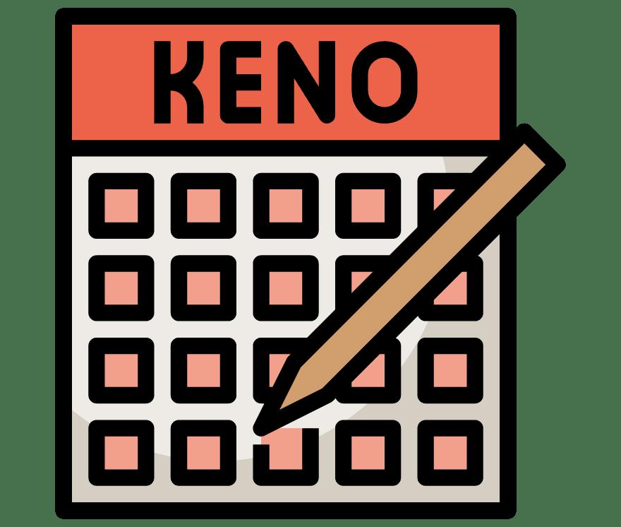 Hrajte Keno Online -Top 28 nejvýše platící Online Kasinos 2021