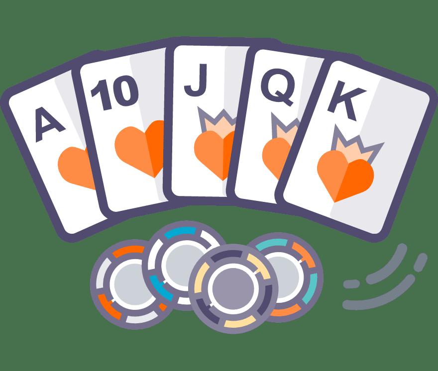 Hrajte Texas Holdem Online -Top 29 nejvýše platící Online Kasinos 2021
