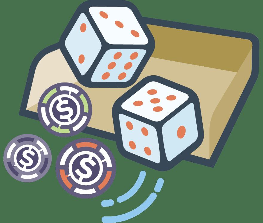 Hrajte Kostky Online -Top 28 nejvýše platící Online Kasinos 2021