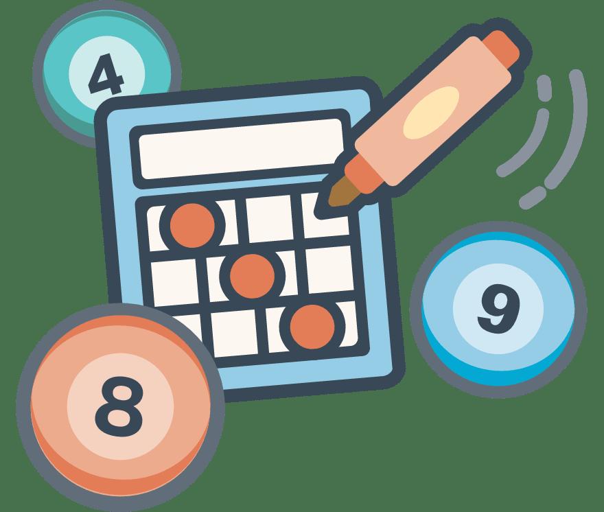 Hrajte Bingo Online -Top 29 nejvýše platící Online Kasinos 2021